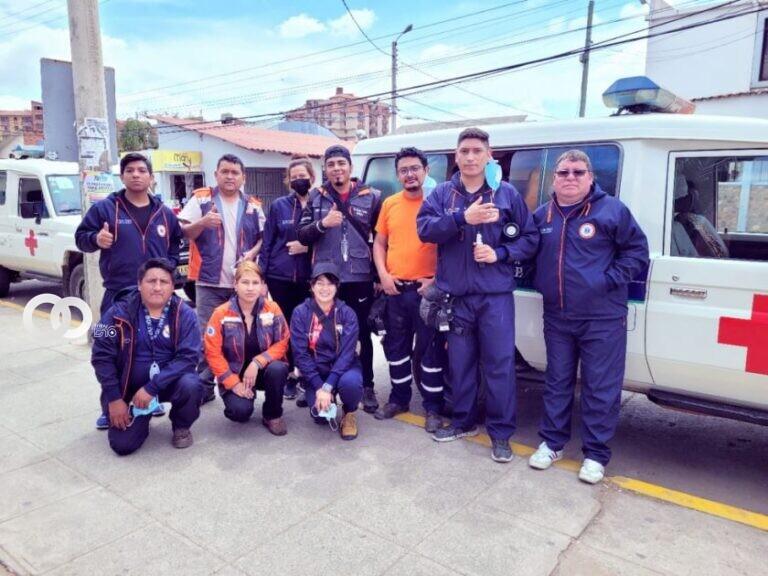 Médicos y voluntarios rumbo a El Palmar para reforzar lucha contra el fuego