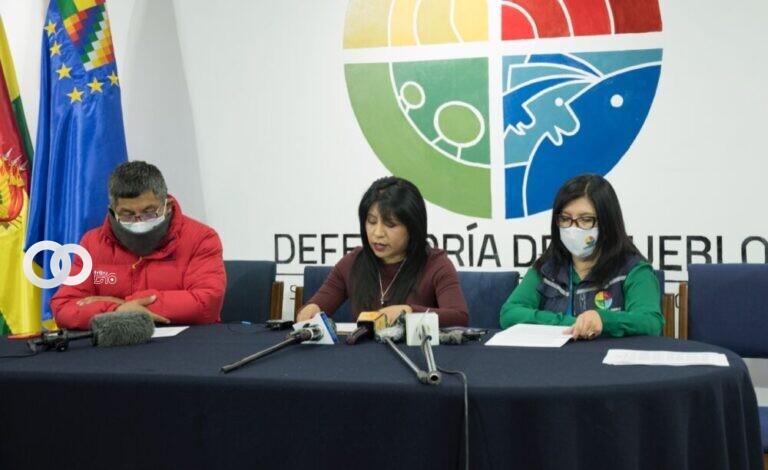 Defensoría del Pueblo expresa su preocupación por la violencia que ocurre en Bolivia