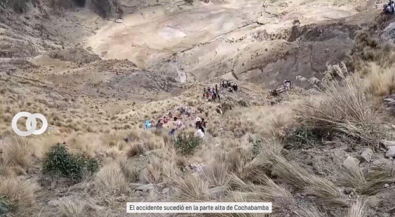 Embarrancamiento de bus en Morochata, Cochabamba deja 21 fallecidos