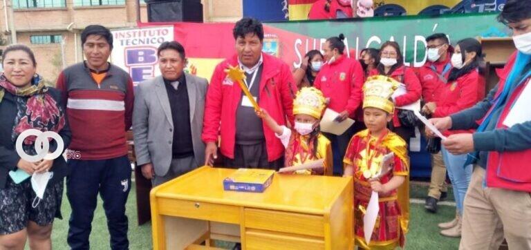 GAMEA coordina actividades culturales con niños y jóvenes de El Alto