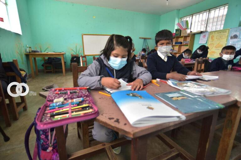 Presidente Arce asegura que el reinicio escolar fue todo un éxito