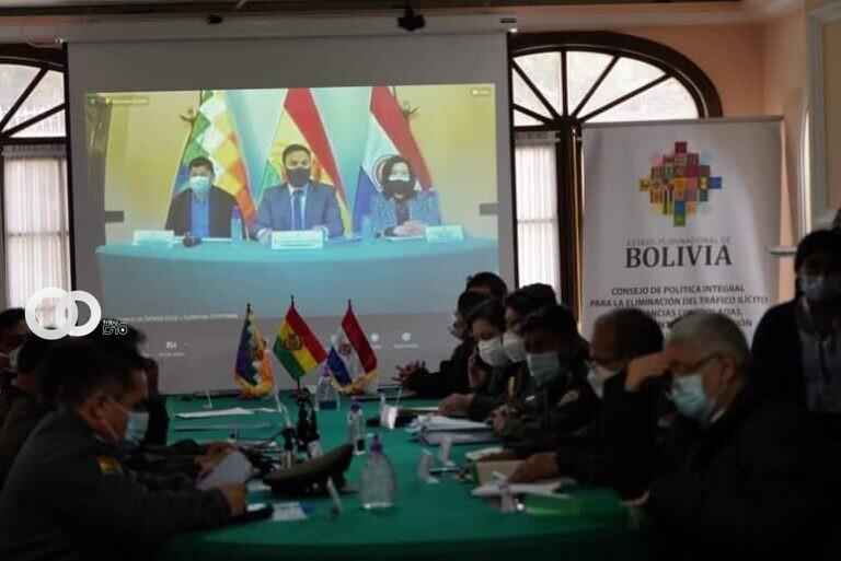 Bolivia y Paraguay en trabajo conjunto contra el tráfico de drogas