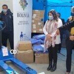 Salud entrega equipo logístico para manipulación de vacunas