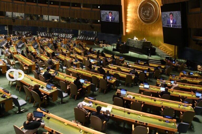 Presidente de Bolivia cuestiona el rol de organizaciones multilaterales