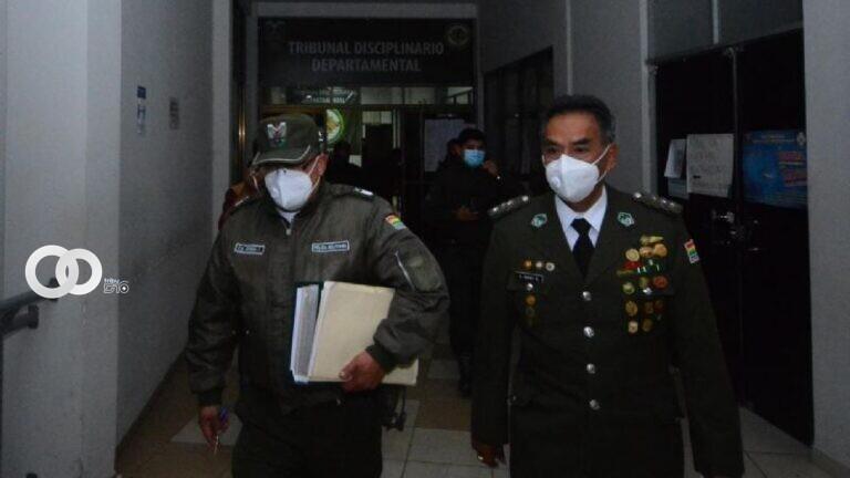 """Tribunal Disciplinario de Tarija: """"Baja definitiva al Coronel Rivas"""""""