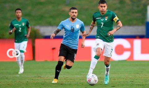 Bolivia fue derrotado con un 4-2 contra Uruguay en Montevideo