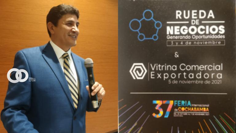 Feicobol anunció la realización de la Feria multisectorial más importante de Cochabamba