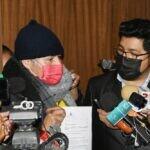 Yujra entrega Ley de Devolución de aportes AFPs a Gonzalo Melgar