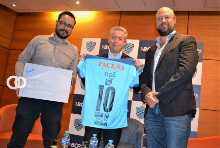 Banco BCP compró una membresía del Club Bolívar