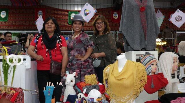 Rimba afirma que el pabellon alteño en la Expocruz se realizó con éxito