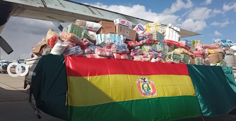 Nuevo envió con 8 toneladas de donaciones son enviados a la Chiquitania