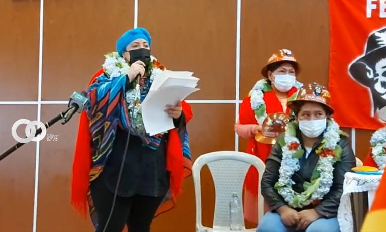 Ministra de la Presidencia aseguró que las mujeres mineras son y serán vanguardias en la las luchas