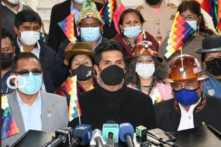 Bancada del MAS se pronunció sobre los actos de agravio en contra de la wiphala