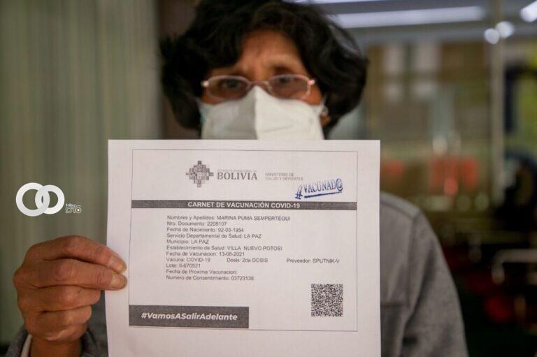 ENTEL otorga 500 megas de regalo con solo registrar tu carnet de vacunación