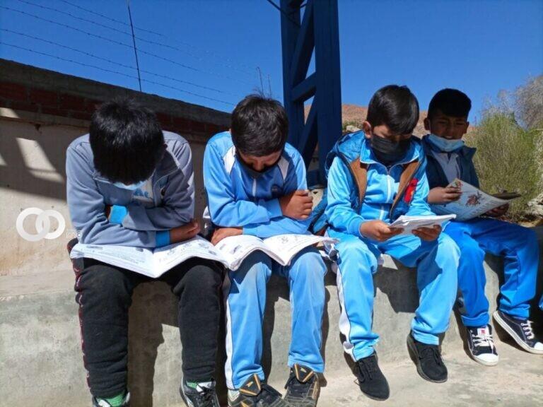 Ministerio de Educación promovió una serie de actividades por el Día Plurinacional de la lectura