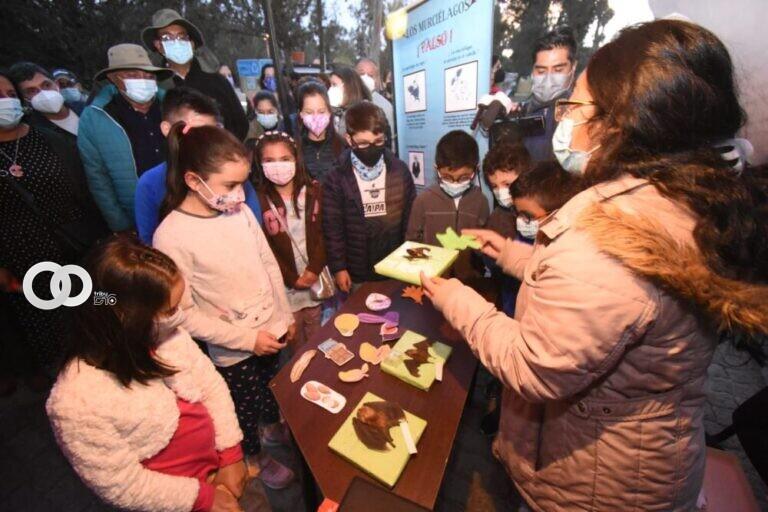 Visitantes disfrutaron del recorrido que organizó el Bioparque Vesty Pakos