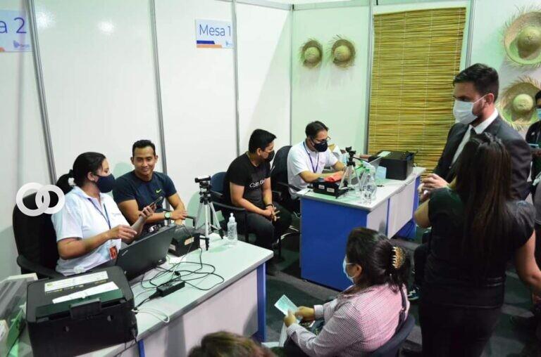 SEGIP inauguró un punto de atención para la población en la Feria Internacional de Santa Cruz