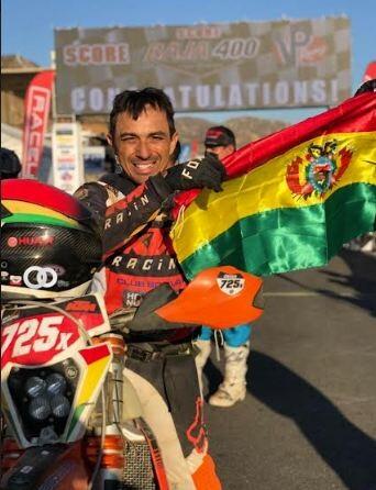 Chavo Salvatierra gana la Baja 400, acercándose más al bicampeonato mundial