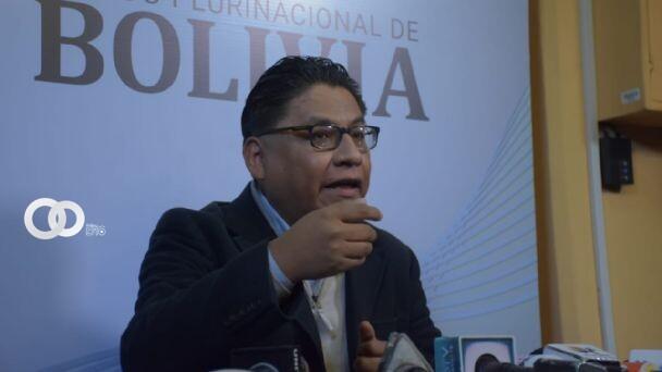 Ministro Lima explica razones jurídicas que respaldan propuesta de juicio de responsabilidades contra Áñez