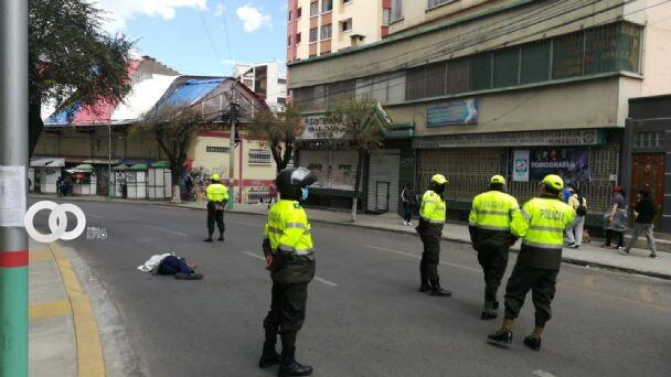 Mujer muere por un ataque epiléptico en Miraflores La Paz