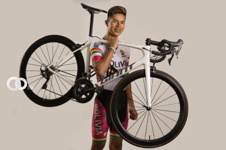 Bolivia acudirá por primera vez al Mundial de Ruta con el ciclista Aramayo
