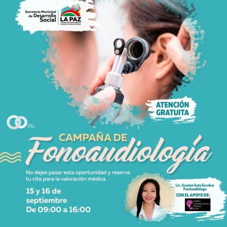 Campaña de detección de problemas de oído se realizará de manera gratuita en Sopocachi