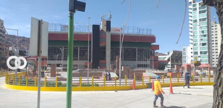 Alcaldía de La Paz anuncia que no permitirá asentamientos en la plaza Tejada Sorzano