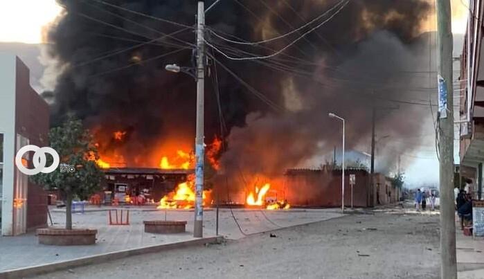 Chuquisaca: Explosión múltiple en ambientes del Sedcam dejó a 12 personas heridas