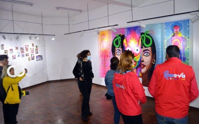 """Museo Antonio Paredes Candia fue reabierto junto a la exposición: """"Ella"""""""