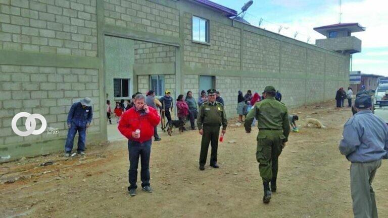 Tres internos de la cárcel de Villazón intentaron darse a la fuga