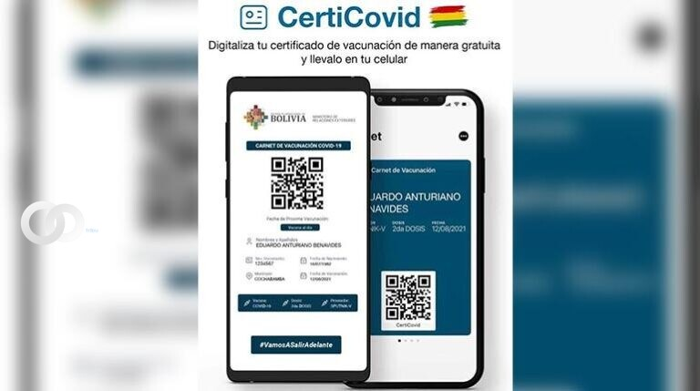 CertiCovid la plataforma online que permite digitalizar el certificado de vacunación contra la Covid-19