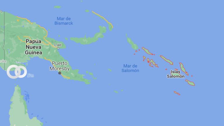 Un terremoto sacudió las Islas Salomón en el Pacífico Sur
