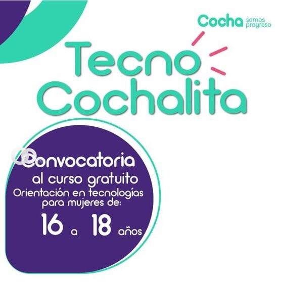 """""""Tecno Cochalita"""" busca generar más espacios para mujeres en el sector tecnológico"""