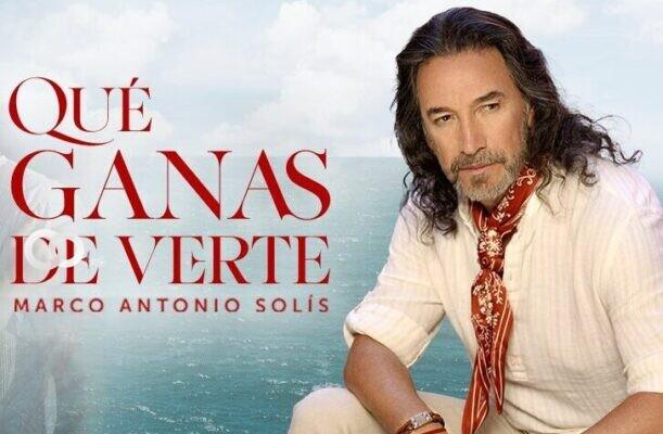 Marco Antonio Solís presenta su nuevo sencillo «Qué ganas de verte»