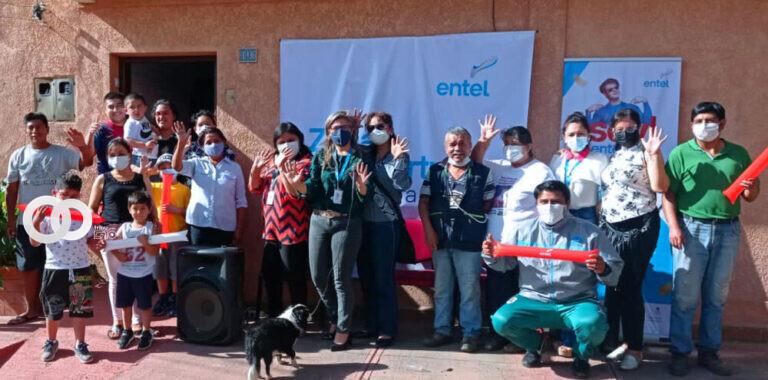 Tarija: ENTEL entregó ampliación de redes de acceso por Fibra Óptica