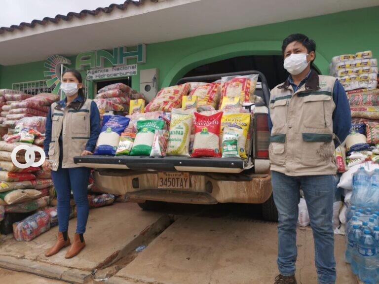 Completan la entrega de donaciones a afectados por incendios