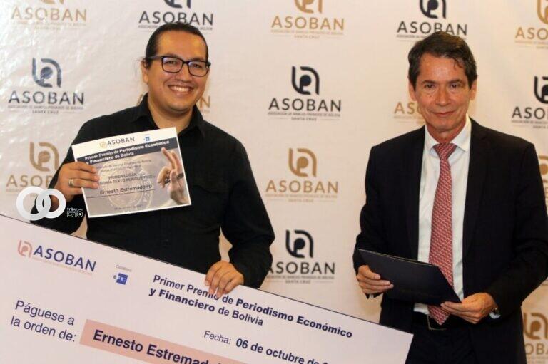 Galardonaron a los finalistas de la 1° edición del Premio de Periodismo Bolivia