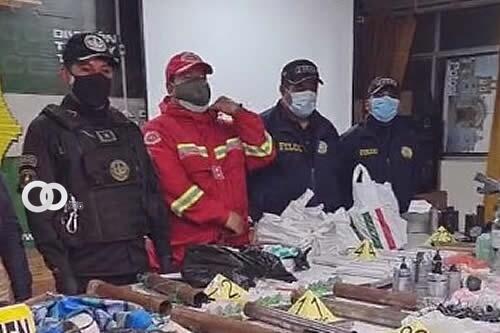 Policía encuentra artefactos explosivos en el hospital de Adepcoca
