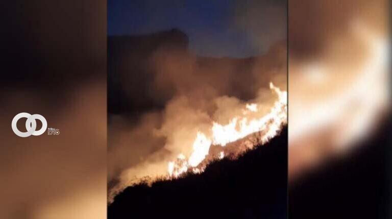 Incendio Torotoro