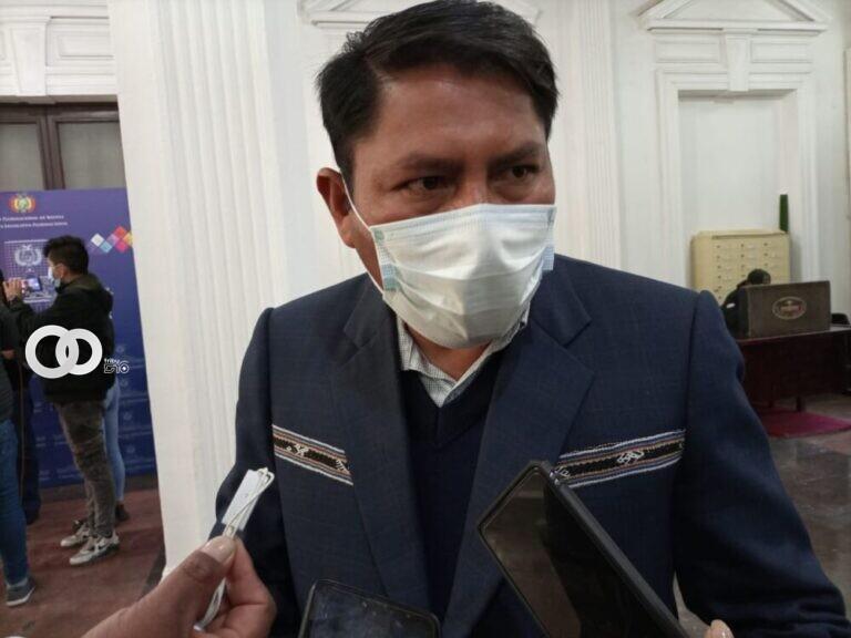 Vocero del MAS califica como «político» el anuncio del paro cívico nacional