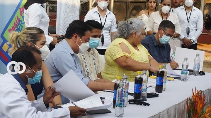 En una labor conjunta instalaron una planta generadora de oxígeno en Pando