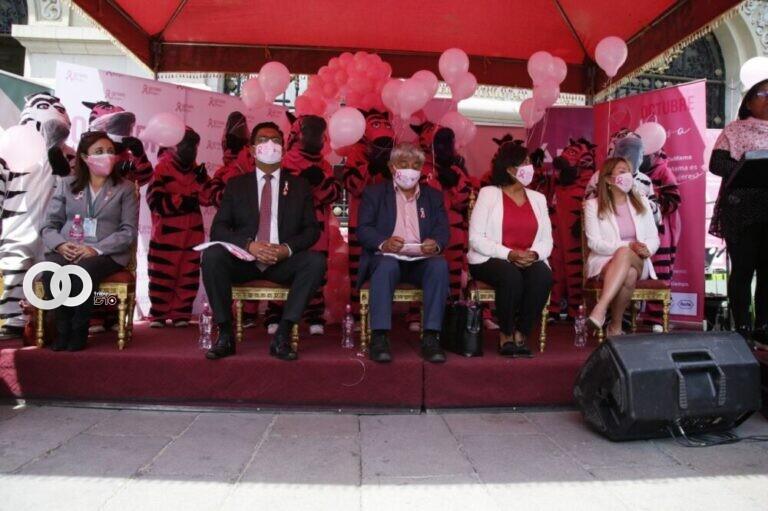 Dulon invita a la ciudadanía a ser parte de la campaña de lucha contra el cáncer de mama