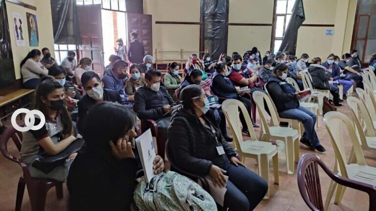 Cochabamba: trabajadores municipales y servidores públicos recibieron taller de Ética Pública