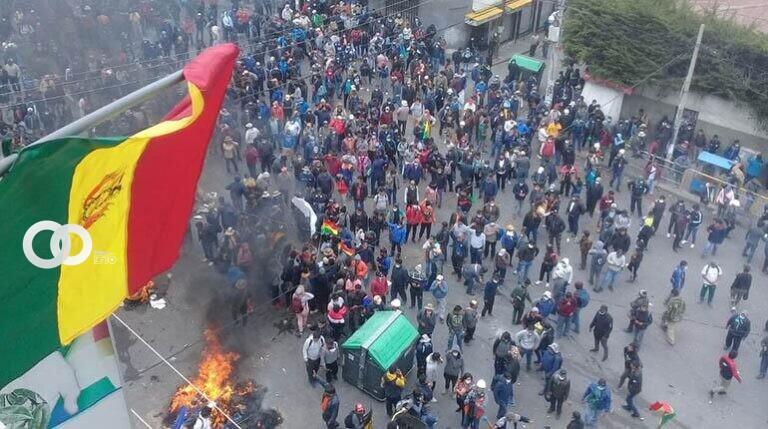 20 personas resultaron heridas en los enfrentamientos de Adepcoca
