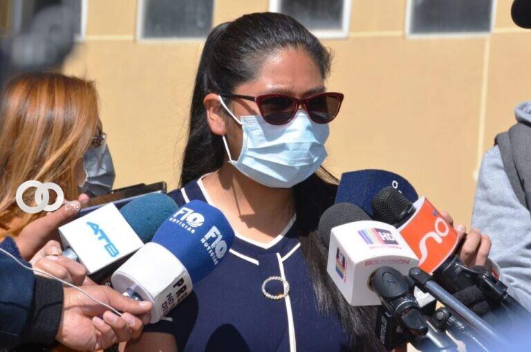 Alcaldesa de El Alto indicó que el lunes tendrán una jornada laboral con normalidad