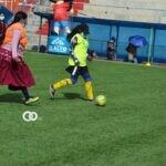 GAMEA celebró el día de la mujer con un partido de fútbol