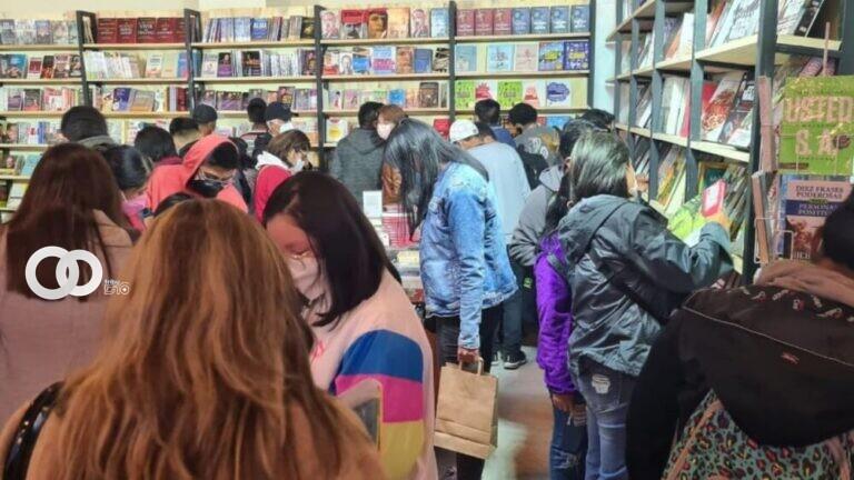 Primera feria de Intercambio, regalo y préstamo de libros en La Paz