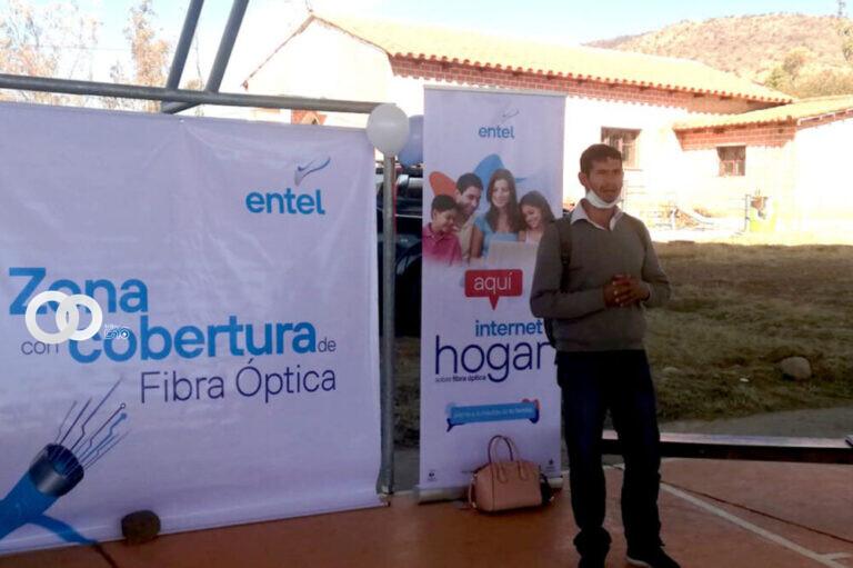 ENTEL brinda ampliación de redes de acceso por Fibra Óptica Al Hogar en Tarija